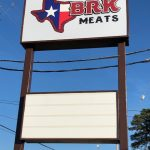 BRK Meats Sign