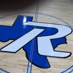 Basketball court Logo